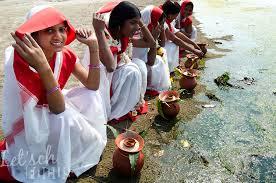 women performing rituals